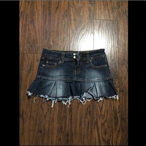 Almost brand new, Jean Mini Skirt